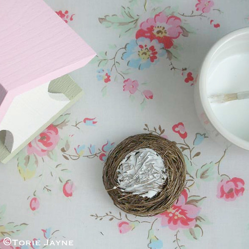 Easter bird house tutorial 3