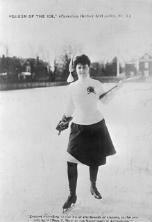 Queen of the ice, 1903 / La Reine de la patinoire, 1903