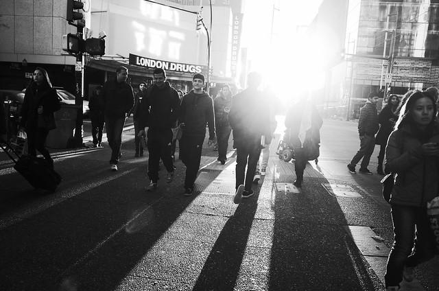 Sunlight on Granville