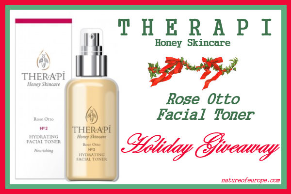 Therapi Rose Otto Face Toner Giveaway