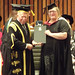 Receiving my degree by Laura Ess