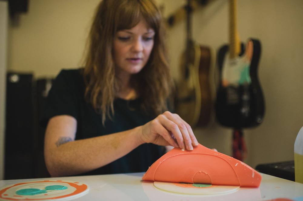 Record Making with Jess Morgan