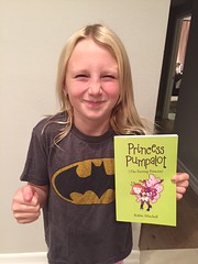 Wed, 11/30/2016 - 20:20 - It's a photo of Zoe with the book all the way from Huntington Beach California. #Fart2016