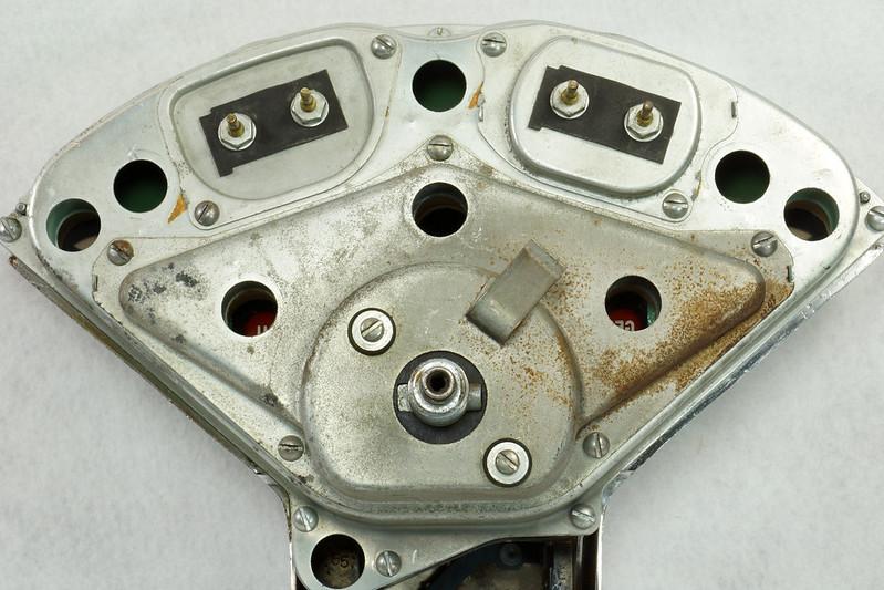 RD14416 1955 1956 Chevrolet Bel Air Dash Gauge Cluster Insturmentation 150 210 DSC06048