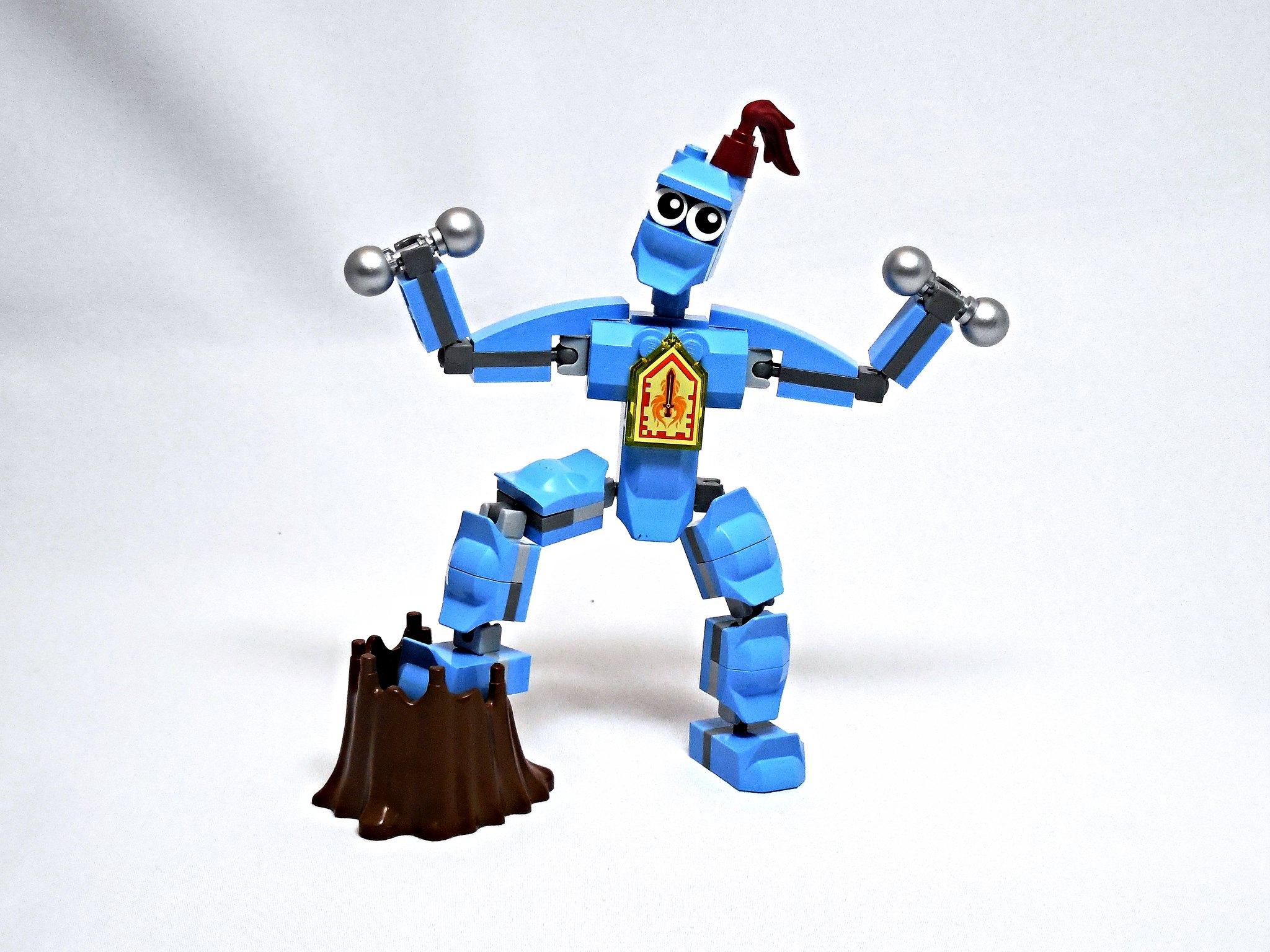 LEGO® MOC by Vitreolum: Sir Flex Of Badassdom