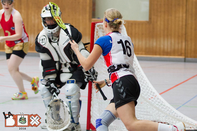 LaBox 2016 Damen Retronixen vs. BLAX