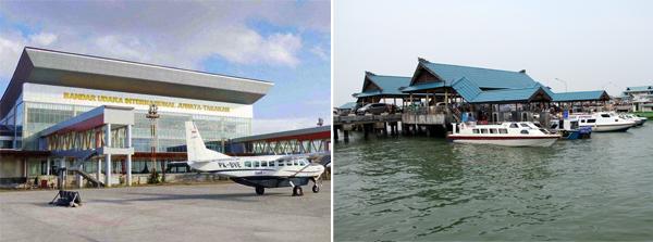Bandara & Pelabuhan Tarakan