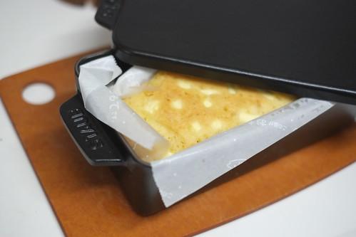 柚子とクリームチーズのケーキ