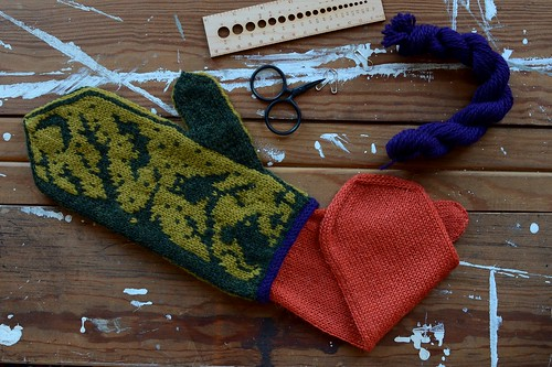 Night Creatures Mittens | by helloyarn