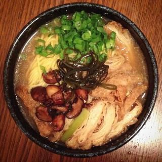 #vegan ramen for dinner. Homemade bc it's so hard to get vegan ramen anywhere.