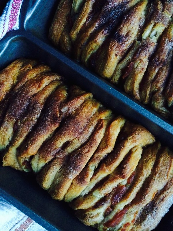 Pumpkin Pull-Apart Bread, For Castmates