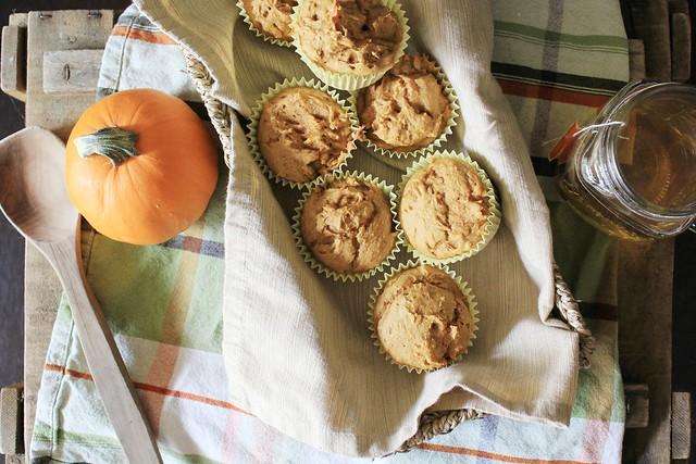 recipe: 2-ingredient pumpkin spice muffins