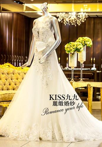 高雄KISS九九麗緻婚紗-推薦婚紗禮服-韓版幸福嫁衣1