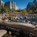 Merced River and El Capitan by phomchick