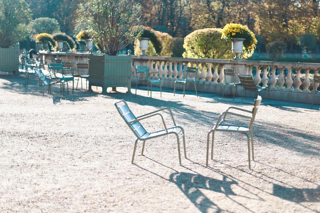 Jardin du Luxembourg Autumn