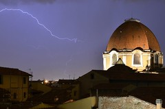 A Bolt from the Blue in Florence