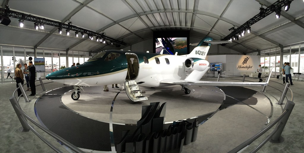 HondaJet is in the last phases of its FAA certification. Deliveries begin in 1Q15. #NBAA14