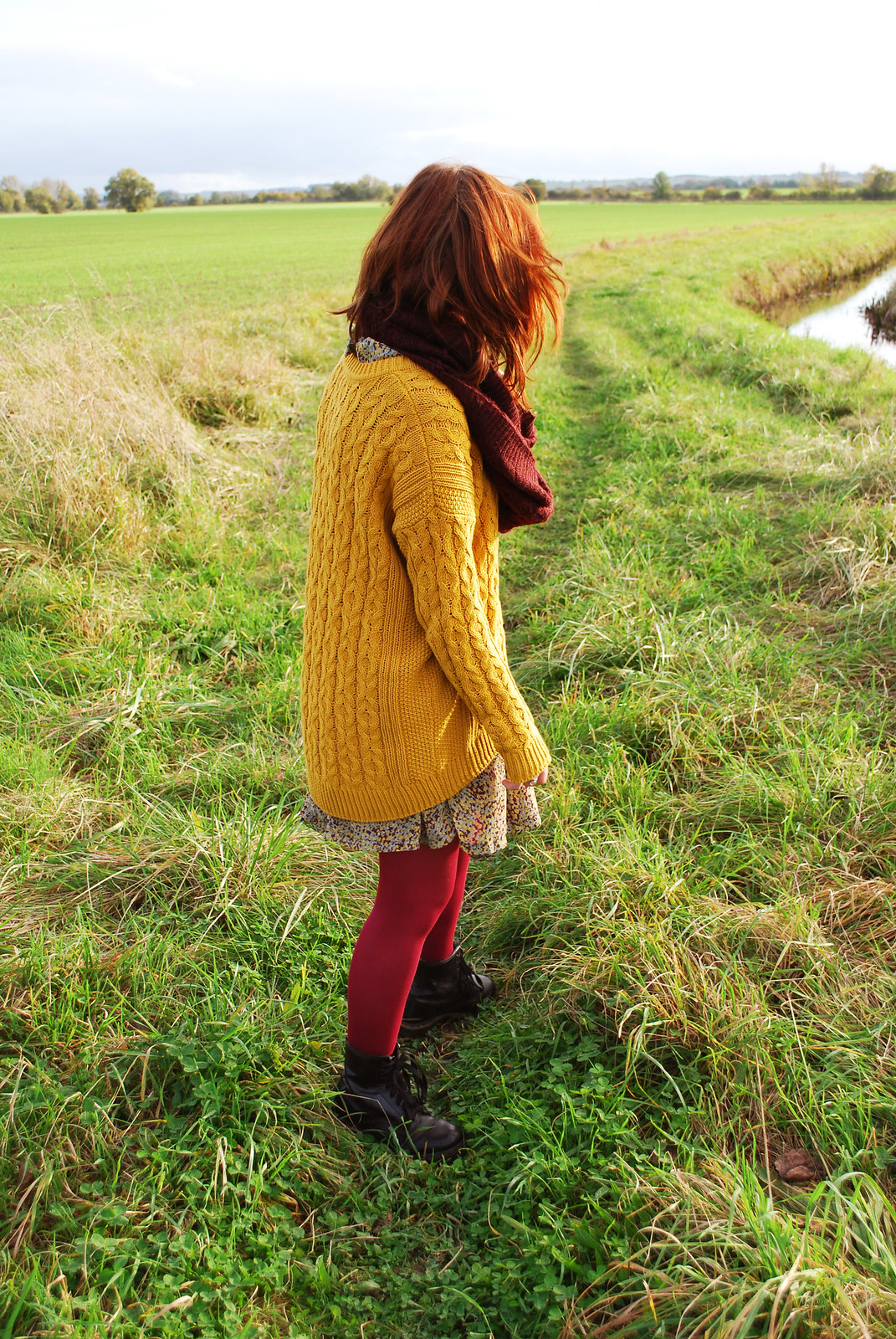 Autumn knitwear fashion