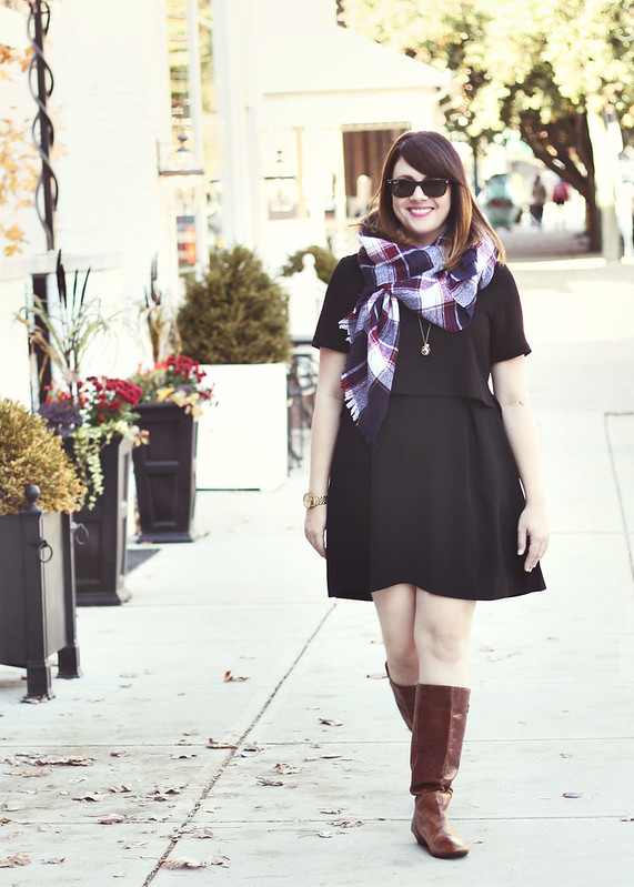 Madewell Dress + Scarf4