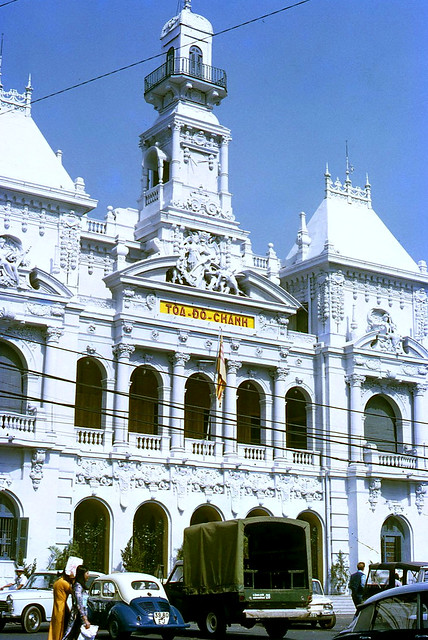 SAIGON 1971 - Tòa Đô Chánh. City Hall - Photo by Mike Vogt