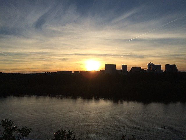 Sunset over Arlington