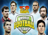 Online Top Trumps World Football Stars 2014 Slots Review
