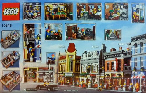 LEGO Creator Detective Office 10246 Back