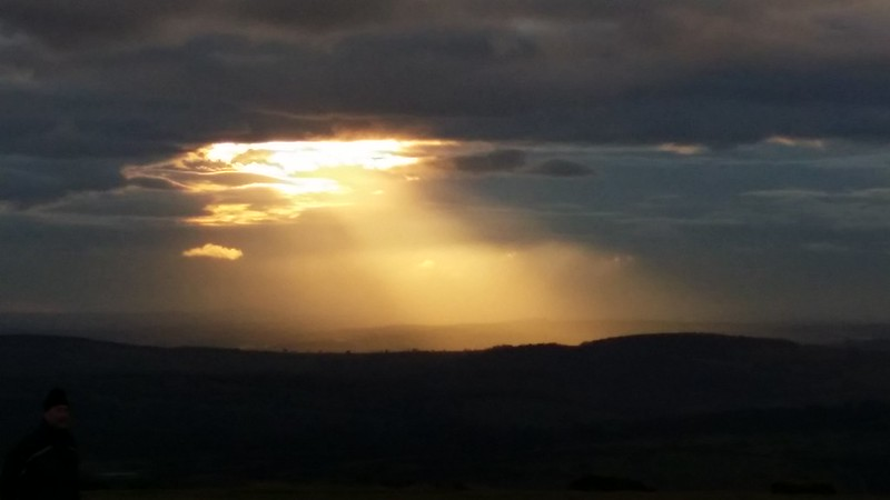 Late Afternoon Sun over South Devon #sh