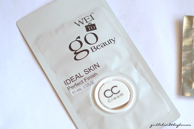 WEI To Go Beauty Ideal Skin Perfect Finish CC Cream