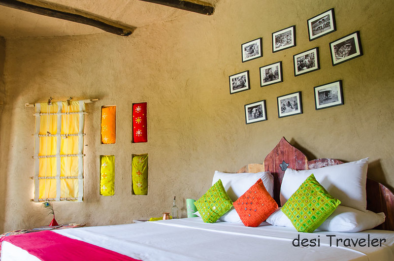 Colorful Bedroom Lakshman Sagar Cottage