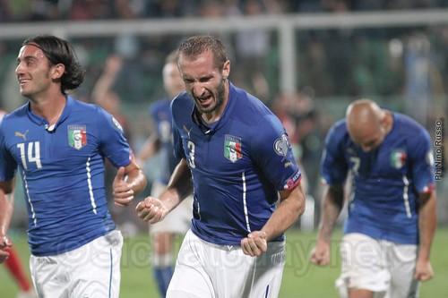 Nazionale, vittoria e festa a Palermo$