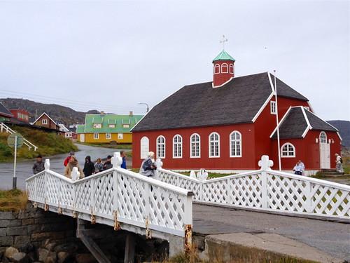 Greenland Qaqortoq church