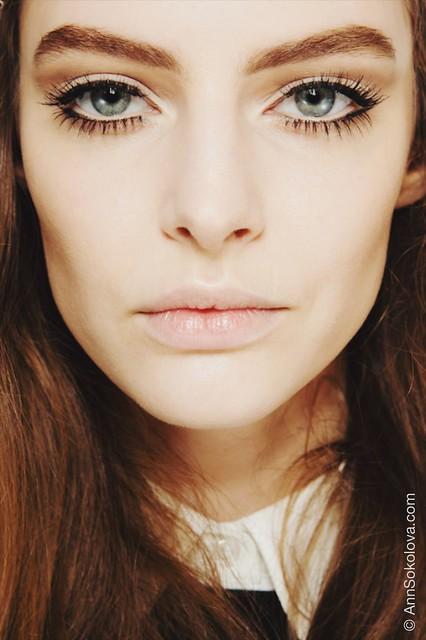 gucci fall 2014 lashes makeup