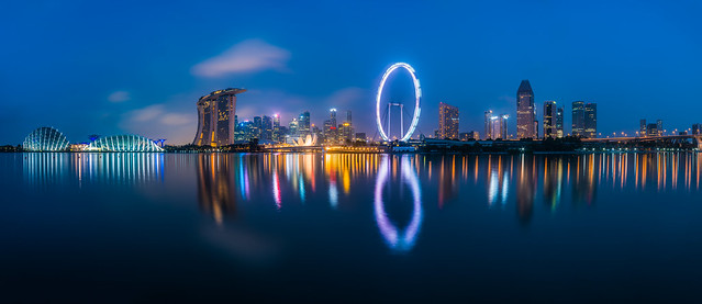 claudecastor - Singapore - Skyline in the Morning