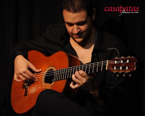 Kilini Jiménez, guitarrista. Foto: Martín Guerrero