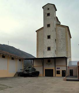 El silo se ha reconvertido en museo.