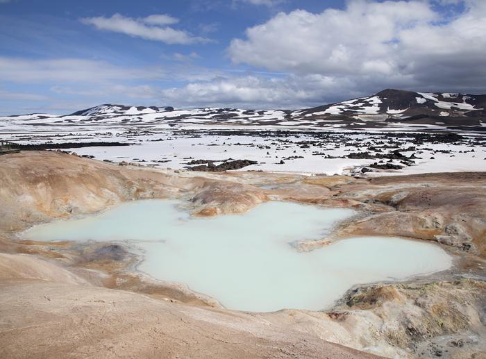 Iceland Campi lavici