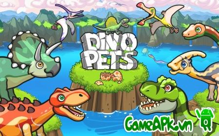 Dino Pets v1.1.2 hack full tiền & kim cương cho Android