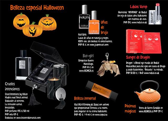 Belleza especial Halloween