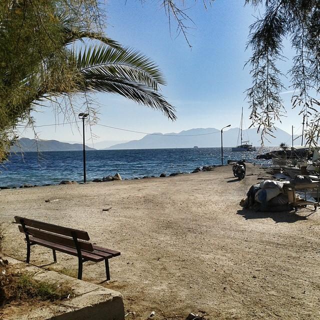 Aeginan saarella