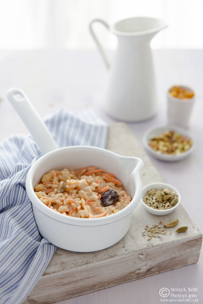 Indian Spiced Carrot Rice Pudding (0052)