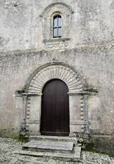 A Romanesque doorway and window, Erice, Sicily