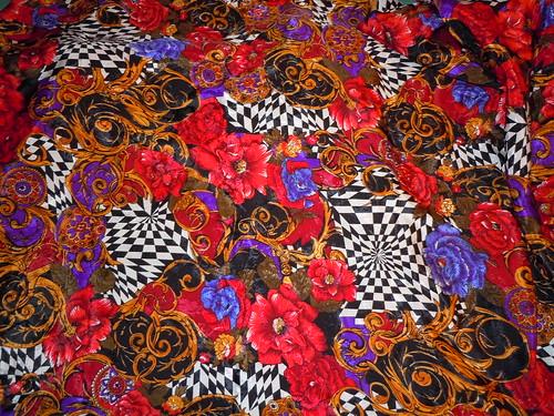 Crazy 60/70's fabric