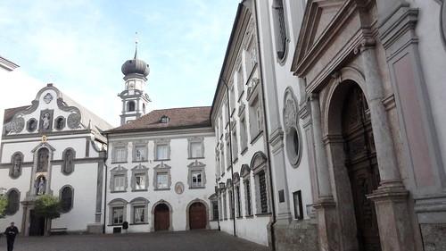 2014-N824 Österreich Gemeinde Hall Jesuitenkirche