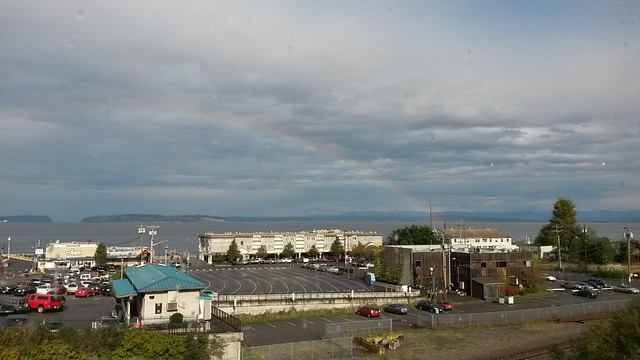 Rainbow over Mukilteo