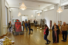 Kunstausstellung im Bürgersaal in Konstanz