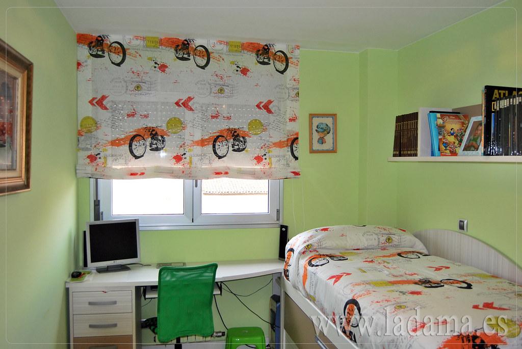 Fotograf as de cortinas juveniles la dama decoracion - Cortinas dormitorio juvenil ...