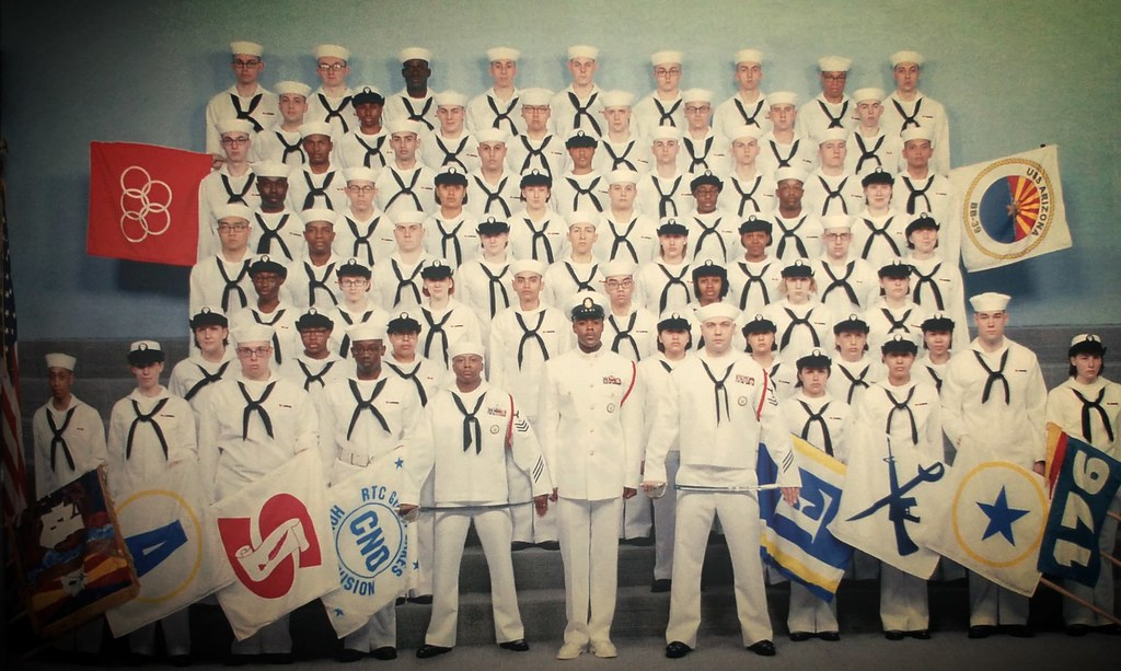 About Myself US Navy RTC Great Lakes  Division 176  Great
