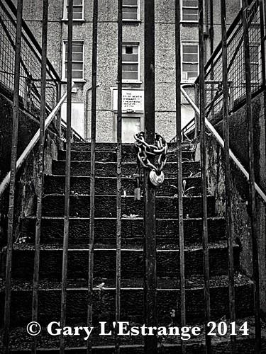 ireland white black building stone stairs hospital gate closed lock matthew ruin chain bible hdr 4s infirmary navan iphone unused hse meath leinster garylestrangephotography wheniwassickyouvisitedme