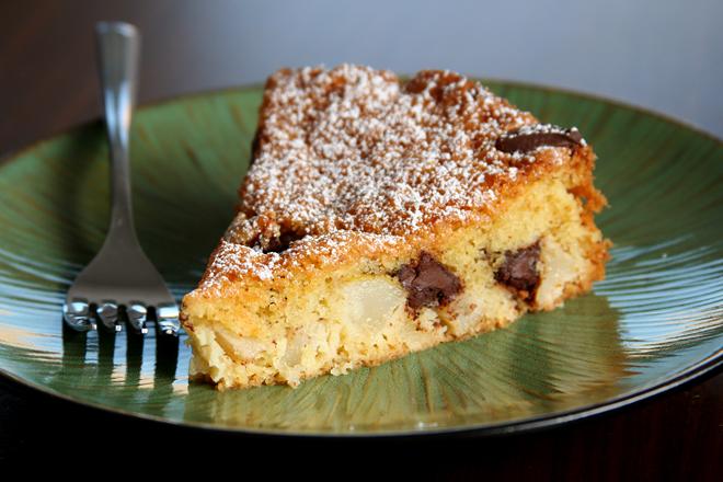 pear chocolate cake 5